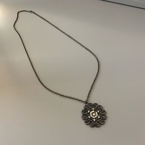 Dark Pendant Necklace